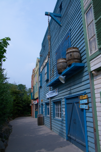 Yukon bay buildings