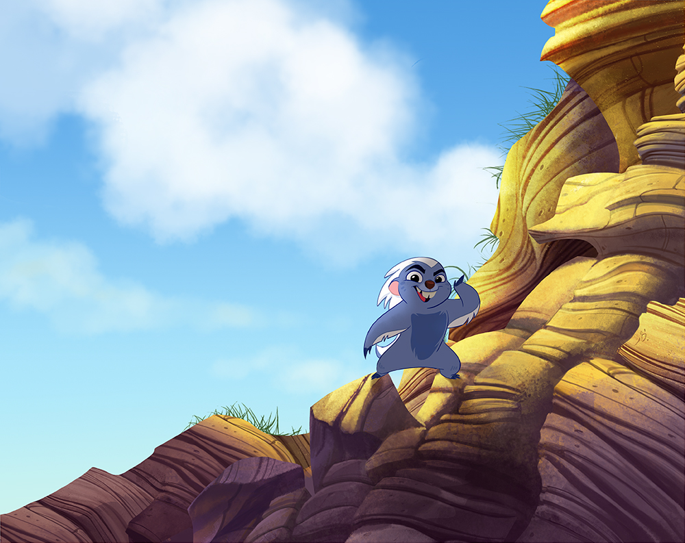 The Lion Guard background