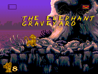 The Lion King Game The Elephant Graveyard