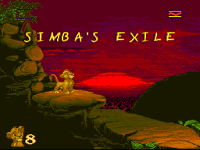 The Lion King Game Simba's Exile
