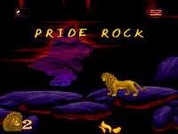 The Lion King Game Pride Rock