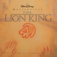 The Lion King Laserdisc Deluxe Box